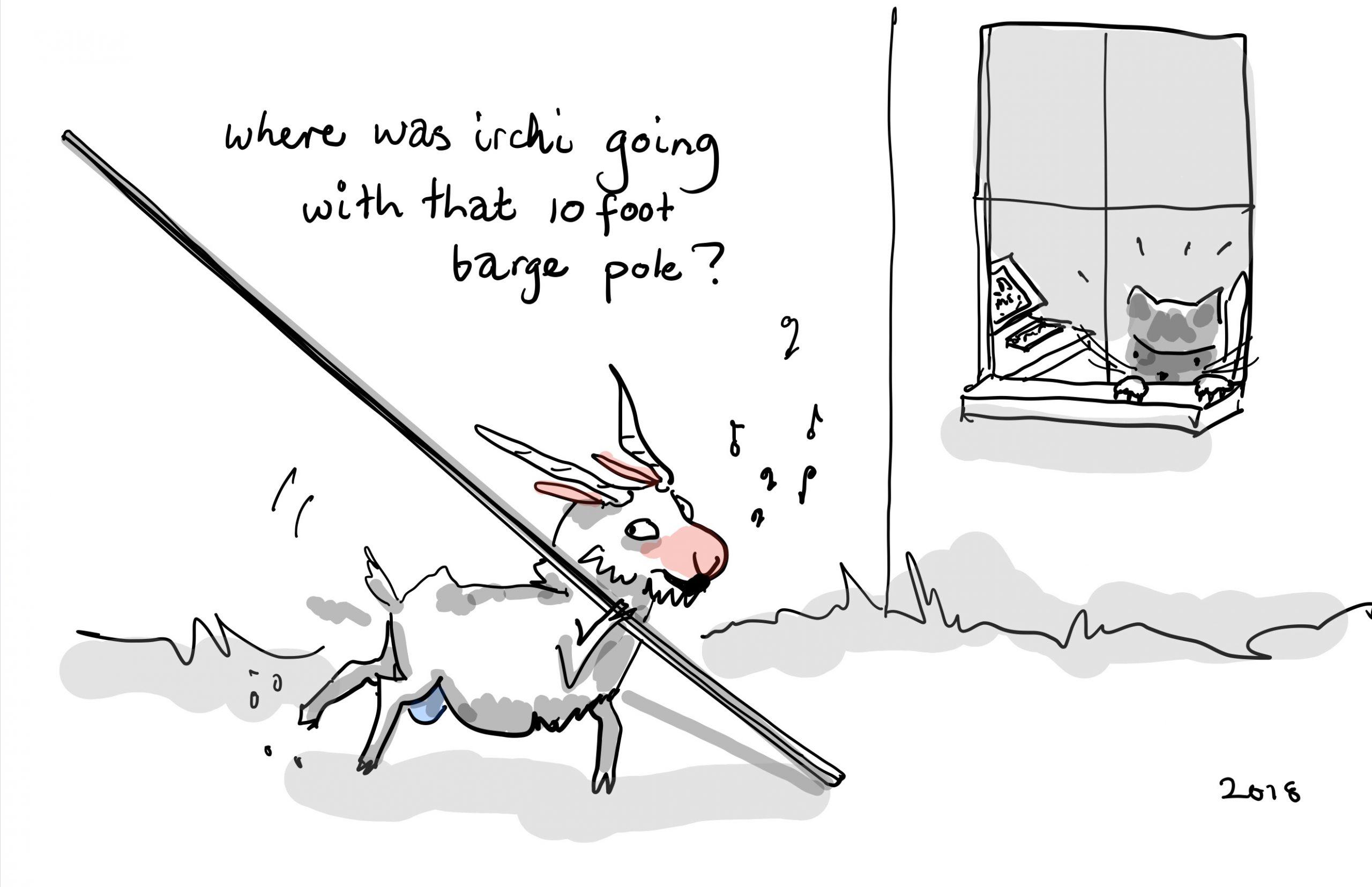 Barge Poles Apart